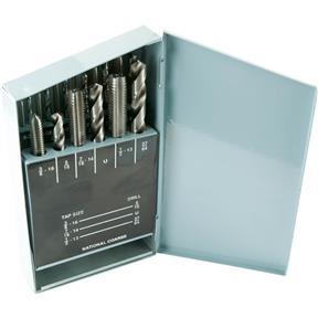 18-Pc. UNC HSS Tap & Drill Set