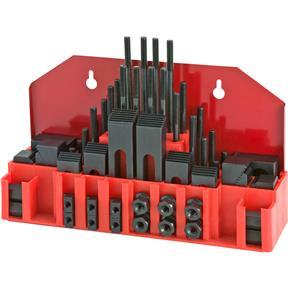 """58 pc Clamping Kit 5/16""""-18, 3/8"""" T-Slot"""