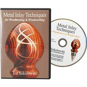 Metal Inlay Techniques for Woodturning and Woodworking - DVD