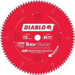 "12"" x 1"" 84t MTCG .100 Composite Decking Blade"