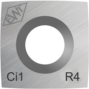 "Ci1-R4 4"" Radius Carbide Cutter"
