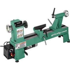 """12"""" x 18"""" Variable-Speed Benchtop Wood Lathe"""
