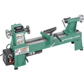 "10"" x 18"" Variable-Speed Benchtop Wood Lathe"