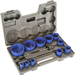 15 Pc. Hole Saw Set