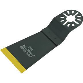 "TiN Coated Bi-Metal Standard Flush-Cut Universal Sawblade 45mm (1-3/4"")"