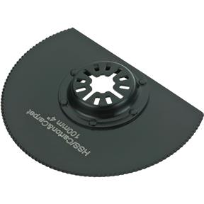 "HSS Serrated Edge Radial Sawblade Diameter 100mm (4"")"