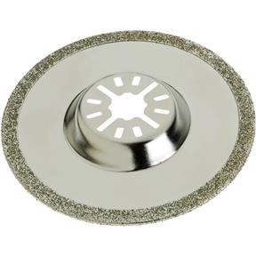 Round Diamond Coated Sawblade-Depressed Center Arbor