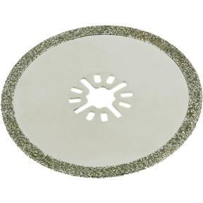 Round Diamond Coated Sawblade-Flat Arbor