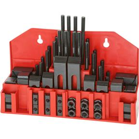 "58 pc. Clamping Kit for 7/16"" T-Slots"