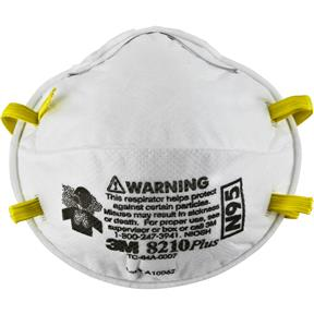 8210P N95 Respirator Particulate, Box of 20