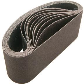 """2-1/2"""" x 16"""" A/O Sanding Belt 100 Grit, 10 pk."""