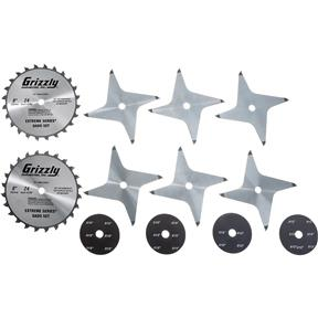 "Grizzly Extreme Series 8"" Dado Set"