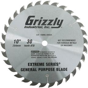 "Extreme Series 10"" x 5/8"" 30t ATB .120"" General Purpose Blade"
