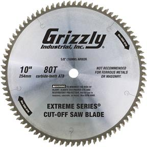"10"" x 5/8"" 80t ATB .120 Cut-Off Saw Blade"