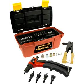 Master Hand Riveter Kit with Storage Case