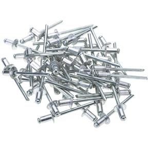 "Aluminum Rivets 5/32"" x 1/4"", 50 pc."