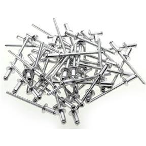 """Aluminum Rivets 3/16"""" x 1/4"""", 50 pc"""