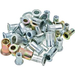 Carbon Steel Cylinder Nut Rivets 6-32