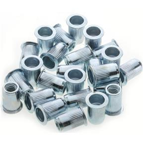 Carbon Steel Cylinder Nut Rivets 1/4-20