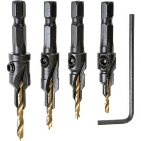 Counter Bit Set, 4 pc.