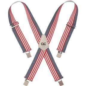 Heavy-Duty USA Flag Work Suspenders