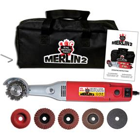 Merlin 2 110V Variable-Speed Mini-Angle Grinder