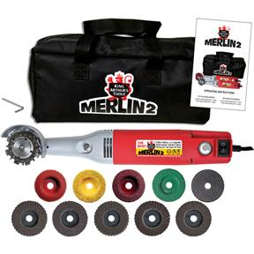 Merlin 2 Premium, 110V Variable-Speed Mini-Angle Grinder