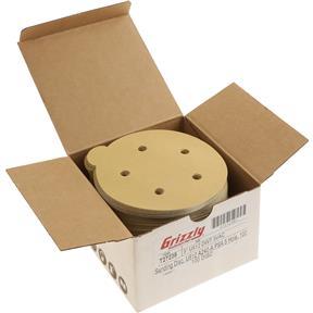 """5"""" A/O Sanding Disc, U612 240-A Grit PSA 5 Hole, 100 pk."""