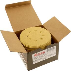 """5"""" A/O Sanding Disc, U612 100-A Grit H&L 8 Hole, 100 pk."""