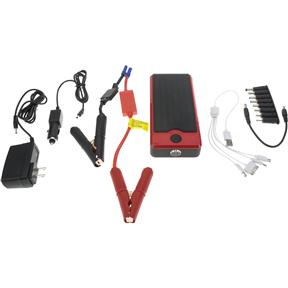 Emergency Power Supply Backup with Battery Jump Starter