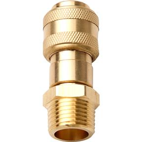 "Coupler, 1/2"" Male NPT Push-to-Connect Industrial Style 30 CFM Body"
