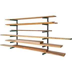 Lumber Rack 6-Shelf System