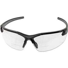 Bifocal Magnifiers Black/Clear 2.5x