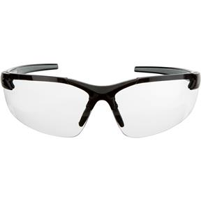 Edge DZ111 Zorge Safety Glasses, Black/Clear Lens