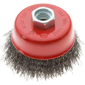 "3"" Cup Crimped Wire Brush"