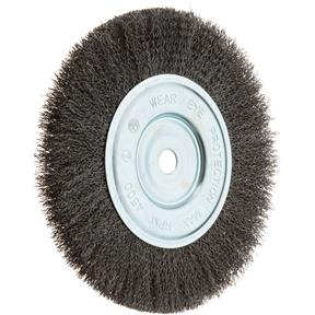 "8"" Single Section Crimped Wire Brush"