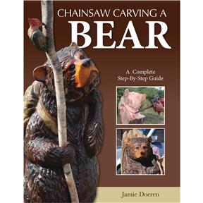 Chainsaw Carving a Bear - Book