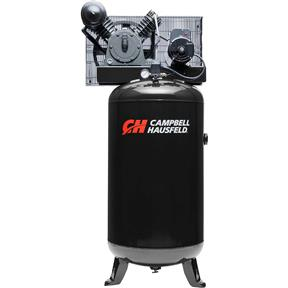 5 HP 80-Gallon Vertical Cast-Iron Compressor