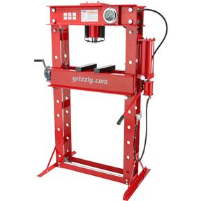 50-Ton Air/Hydraulic Shop Press