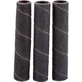 """1/2"""" x 3"""" A/O Hard Sanding Sleeve, 60 Grit, 3 pk."""