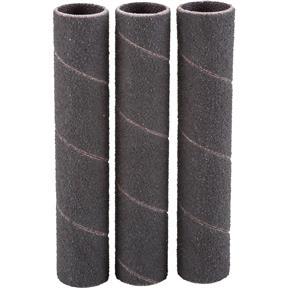"""1/2"""" x 3"""" A/O Hard Sanding Sleeve, 100 Grit, 3 pk."""