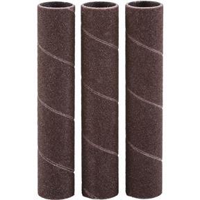 """1/2"""" x 3"""" A/O Hard Sanding Sleeve, 150 Grit, 3 pk."""