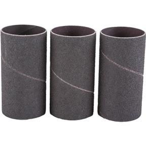 """1-1/2"""" x 3"""" A/O Hard Sanding Sleeve, 80 Grit, 3 pk."""