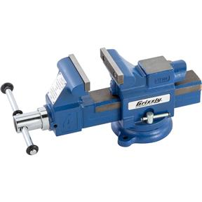"4"" Quick-Action Bench Vise with Anvil"