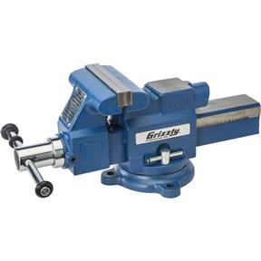 "5"" Quick-Action Bench Vise with Anvil"