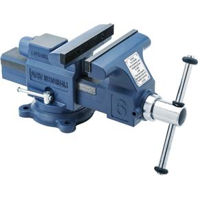 "6"" Quick-Action Bench Vise with Anvil"