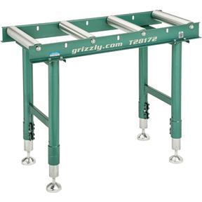 """14"""" x 39"""" Heavy-Duty Roller Table"""