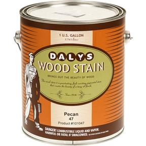 Daly's Wood Stain, Pecan - Gallon