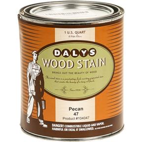 Daly's Wood Stain, Pecan - Quart
