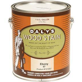 Daly's Wood Stain, Ebony - Gallon